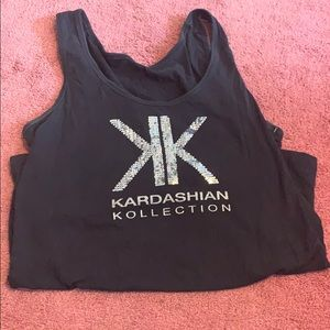 Kardashian kollection tank top